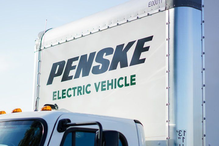 Electric trucks are growing in viability as a lease or rental option, mostly aimed at last-mile and return-to-base operations. - Photo: Penske Truck Leasing