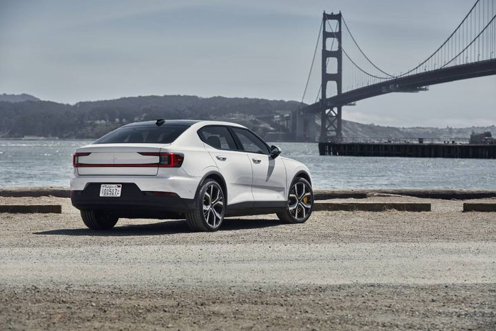 The Polestar 2 is rolling out this year as a practical, sophisticated electric vehicle that manages to come off as understated. - Photos: Polestar