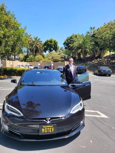 MOTEV co-owner Robert Gaskill invested in an electric vehicle five years ago, which now gives him an informed, road-tested perspective on fleet electrification. - Photo: MOTEV