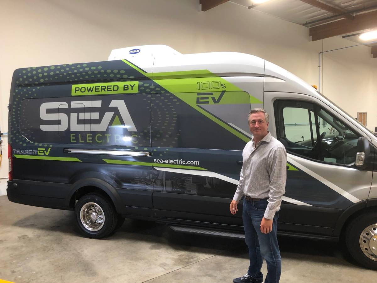 SEA Electric Puts Commercial Trucks Onto Cleaner Path