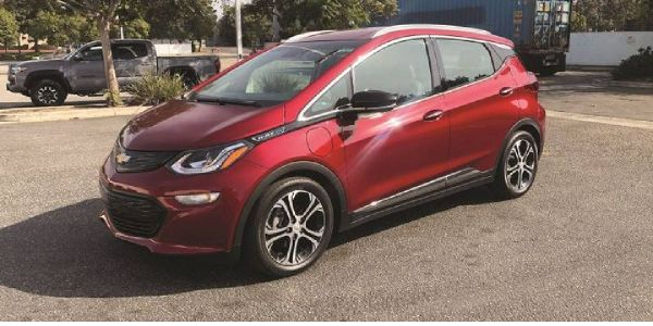 Chevy Bolt is at the top of the reliability class amopng EVs because manufacturer General Motors...
