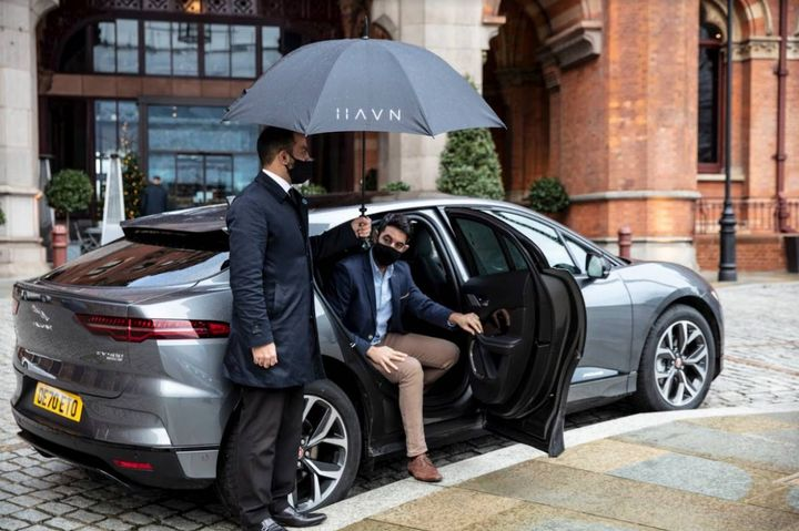 Havn was launched in 2019 by InMotion, Jaguar Land Rover's venture capital and mobility services arm. By acquiring a majority stake in Havn, global chauffeured transportation service Blacklane will add the premium all-electric Jaguar I-PACE performance SUV to its fleet for the first time. - Photo: Blacklane