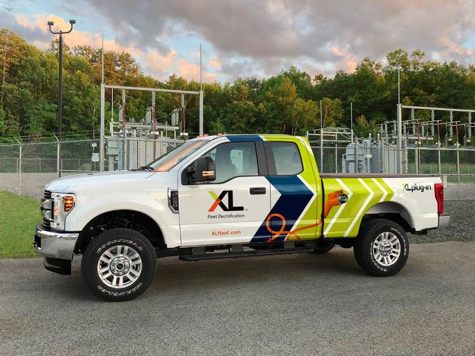 XL Fleet offers a full suite of electrification solutions that includes electrified powertrains, charging infrastructure, power management and fleet intelligence data. - Photo: XL Fleet