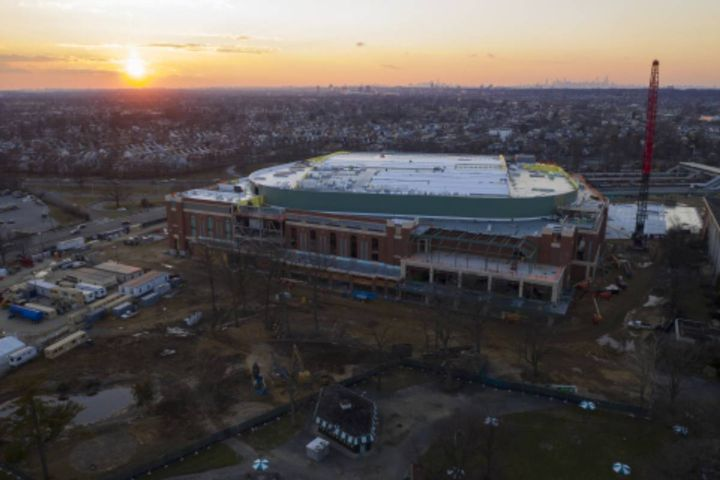 Deployment would be one of the largest EV charging sites in the U.S. XL Fleet will also explore solar and energy storage to help meet sustainability goals of UBS Arena. - Photo: UBS Arena Project