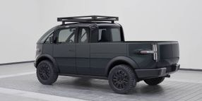 Canoo Unveils Work Pickup Truck With Practical Features