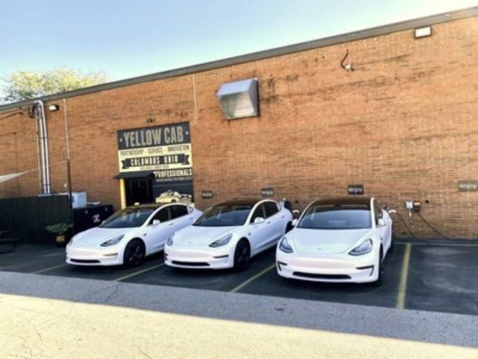 Mike Albert Fleet Solutions has developed close working relationships with several OEMs in the EV space, including Tesla, which made it possible for them to acquire 30 Tesla Model 3s for Columbus Yellow Cab. - Photo: Mike Alert Fleet Solutions