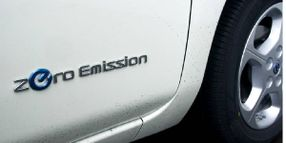 Sales Growing for Zero Emissions Vehicles