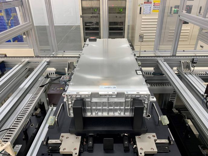 The BlueOvalSK MoU builds on Ford's recently announced investments to accelerate R&D of battery technology and manufacturing – including a new global battery center of excellence and an additional investment in a solid-state battery startup. - Photo: Ford