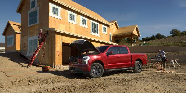 Arriving in spring 2022, F-150 Lightning will be available in four series and two battery...