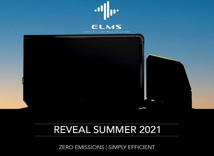 With an estimated range of about 250 miles unloaded, the ability to support variable cargo box lengths and an expected payload of around 5,700 pounds, the Urban Utility is anticipated to be the second electric vehicle in ELMS' last mile portfolio. - Photo: ELMS