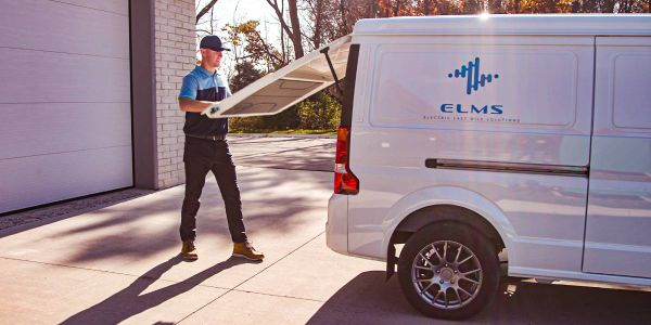 So far, ELMS has two electric fleet vehicles planeed: The above Urban Delivery van and an Urban...