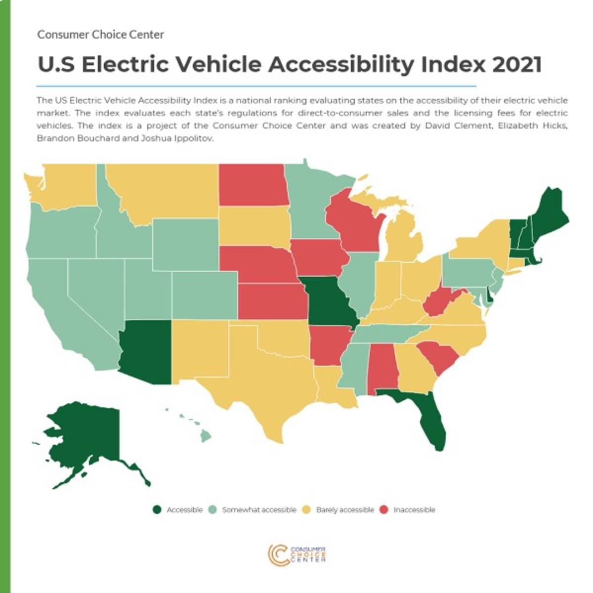 Which States are Best for Buying EVs?