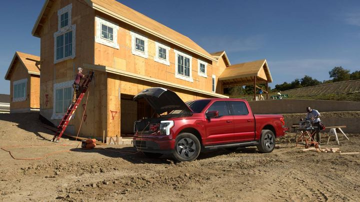 Sales orders for the new Ford F-150 Lightning electric pickup truck took off after Ford unveiled it in May. - Photo: Ford