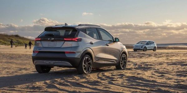 The 2022 Chevrolet Bolt EUV was added to the recall list by GM on Aug. 20, 2021.