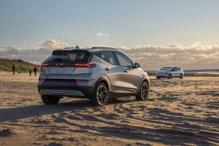 The 2022 Chevrolet Bolt EUV was added to the recall list by GM on Aug. 20, 2021. - Photo: GM