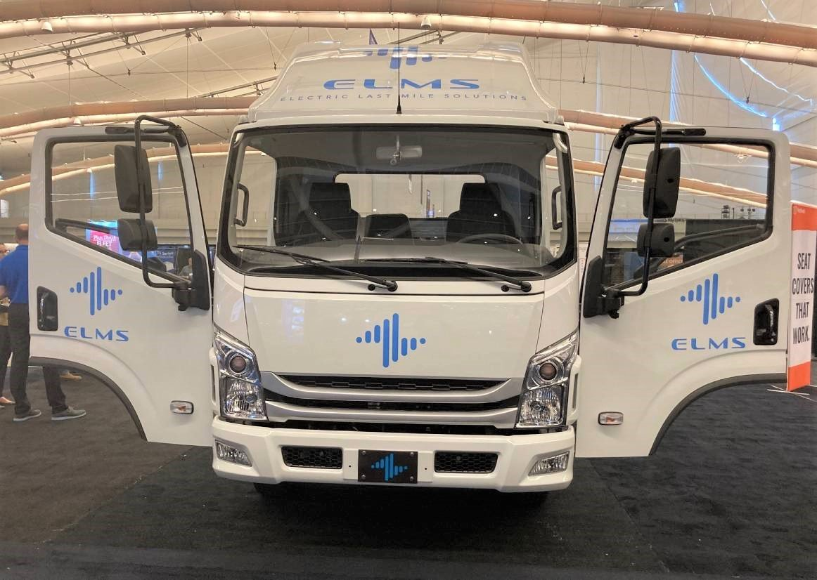 ELMS Reveals Medium-Duty, All-Electric Urban Utility Vehicle