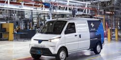 Production started Sept. 20 on the ELMS Urban Delivery van, ready to become the first commercial Class 1 EV in the U.S. market.