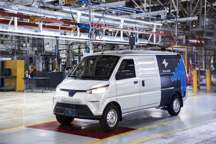 Production started Sept. 20 on the ELMS Urban Delivery van, ready to become the first commercial Class 1 EV in the U.S. market. - Photo: ELMS