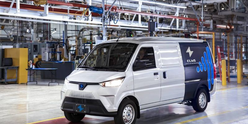 Production started Sept. 20 on the ELMS Urban Delivery van, ready to become the first...