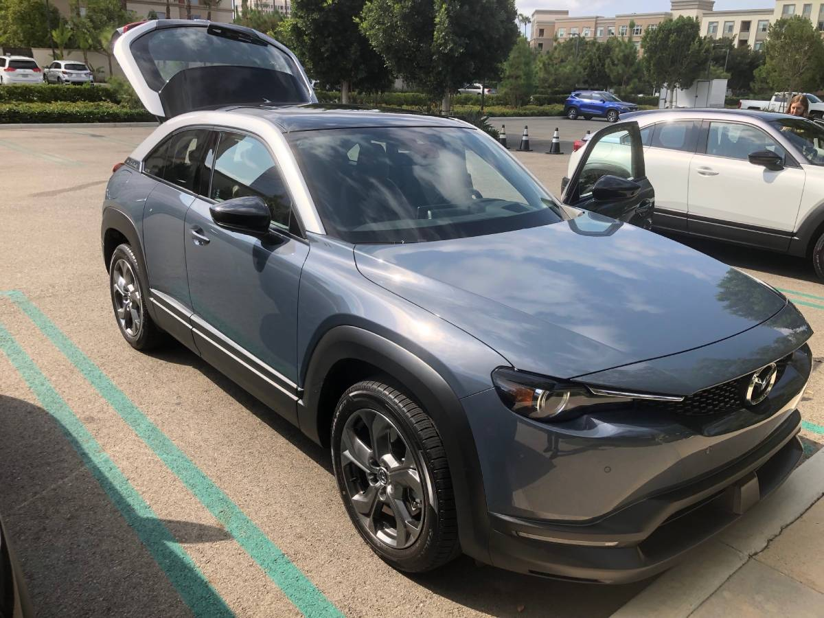 Mazda Debuts Its First Electric Vehicle Model On the Road