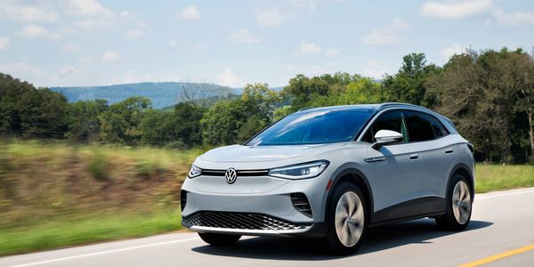 The 2021 Volkswagen ID.4 AWD Pro S with gradient package.