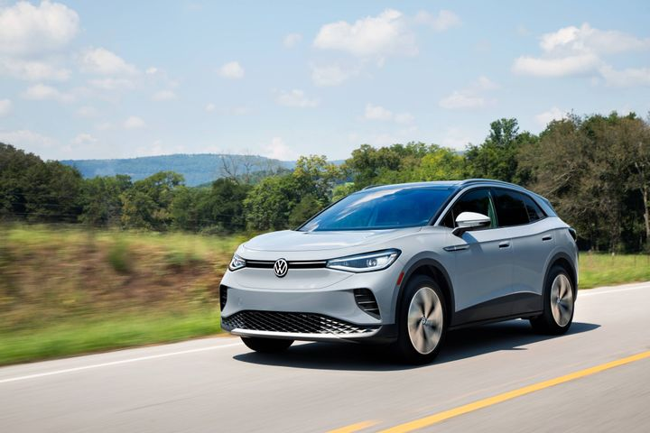 The 2021 Volkswagen ID.4 AWD Pro S with gradient package. - Photo: Volkswagen of America