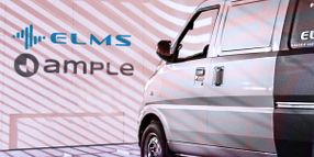 ELMS, Ample Partner on Battery Swapping for Fleets