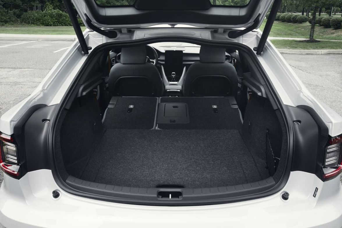 Front storage compartment: 1.3 cu.ft. Rear luggage capacity: 14.2 cu.ft. w/ seats raised Full...