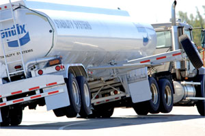 An estimated 25% of new trucks have stability control systems, such as the one Bendix offers.