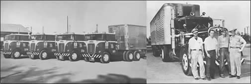 Historical truck photos from FFE