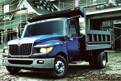 The International TerraStar is suited for a variety of applications, including pickup and delivery, landscaping, municipal, utility, and construction.