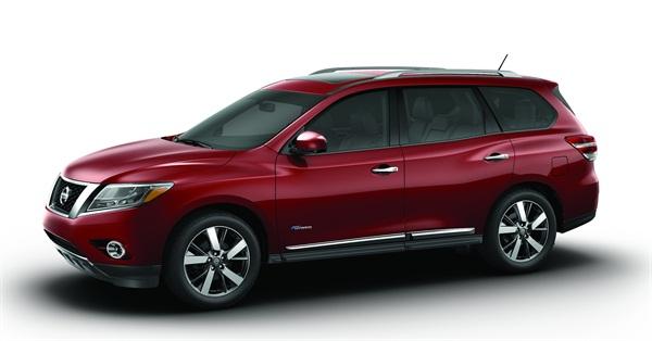 2014-MY Nissan Pathfinder Hybrid