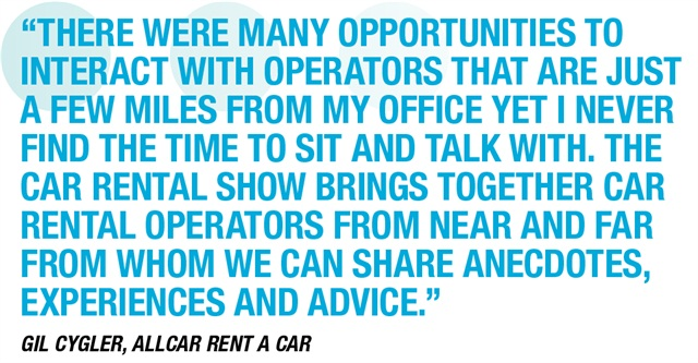 Car Rental Show Goes Big And Goes Global Rental Operations - Car rental show las vegas