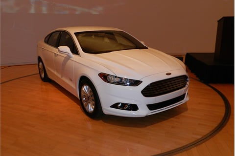 The 2013-MY Ford Fusion