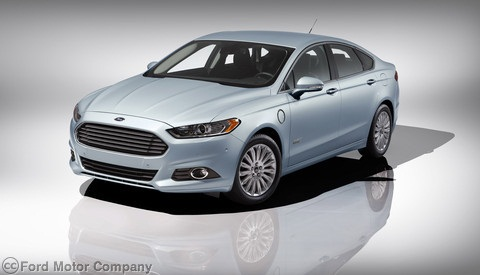 The 2013-MY Ford Fusion Energi.