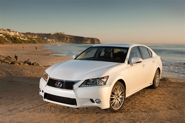 The 2013-MY Lexus GS 450h