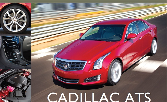 The 2013-MY Cadillac ATS