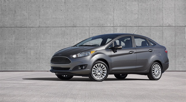 Ford's four-door version of its 2014-MY Fiesta.