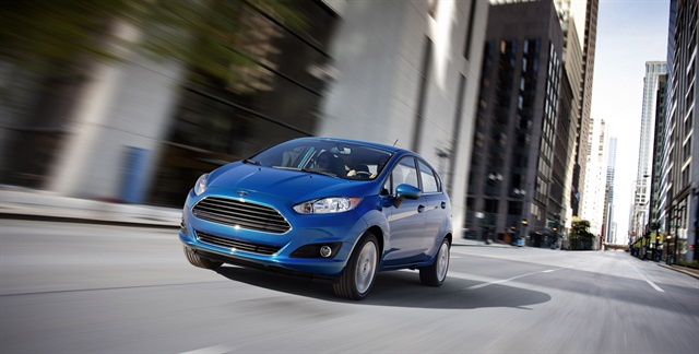 Ford's 2014 Fiesta five-door model.