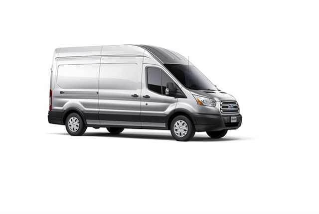 This is the high roof, long wheelbase version of the full-size Transit van.