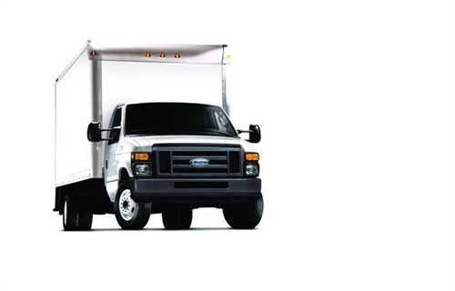A cutaway van offers the advantage of a smoother ride and convenient maintenance access.