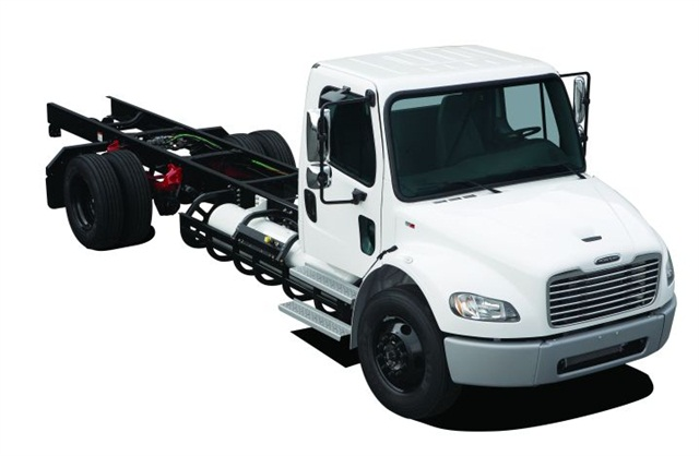 Built on Freightliner Custom Chassis Corp.'s S2, the S2G chassis is a factory-installed 8.0L LPG engine rated at 325 hp and 450 lb.-ft. of torque.