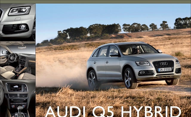 The 2013 Audi Q5 Hybrid
