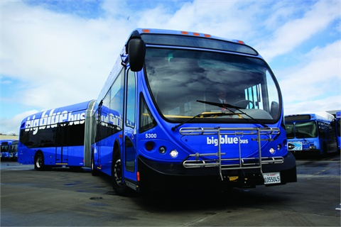 Big Blue Bus' switch to alternative fuels began with Santa Monica's sustainable cities program.