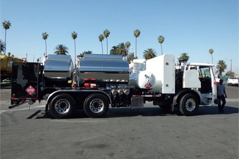 The CNG fuel truck is paid for partially by the Mobile Source Air Pollution Reduction Review Committee (MSRC).