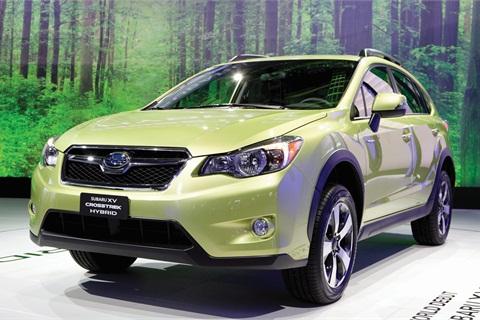 2014-MY Subaru Crosstrek Hybrid