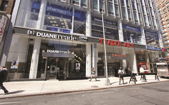 Without back doors or loading docks, Duane Reade's stores can't accommodate much extra inventory, which has forced the company to implement a unique delivery style.