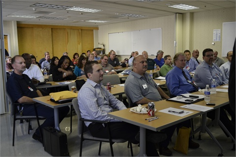 The Orange County Sanitation District hosted a packed MEMA meeting.