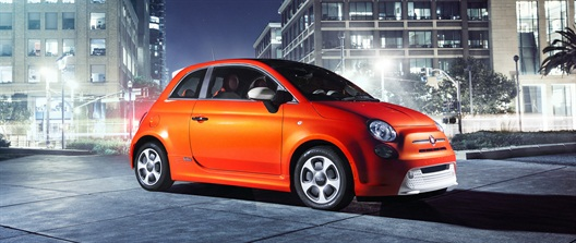 The all-electric Fiat 500e is scheduled to go on sale in California in 2013.