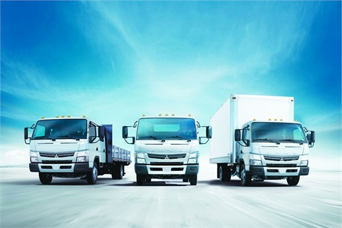 The MY-2013 Mitsubishi Fuso Canter lineup features the Canter FE125, the Canter FE160, and the Canter FE180. The company also makes the FE160 Crew Cab and FG